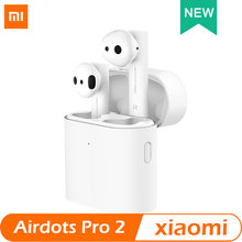 Xiaomi Air TWS Bluetooth Headset 2 Airdots pro 2 Xiaomi Smart Voice Control LHDC HD Sound Dynamic Tap Control ENC