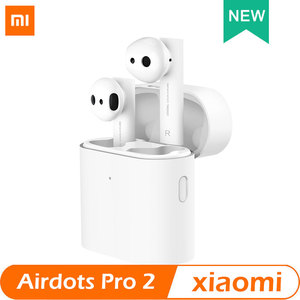 Image 1 - Xiaomi אוויר TWS Bluetooth אוזניות 2 Airdots פרו 2 Xiaomi חכם קול שליטה LHDC HD צליל דינמי שליטה ברז ENC