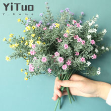 YiTuo Gypsophila Decoration Artificial Flower Green Plant Crafts MW05556