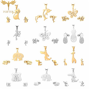 Cute Girl Jewelry Stainless St