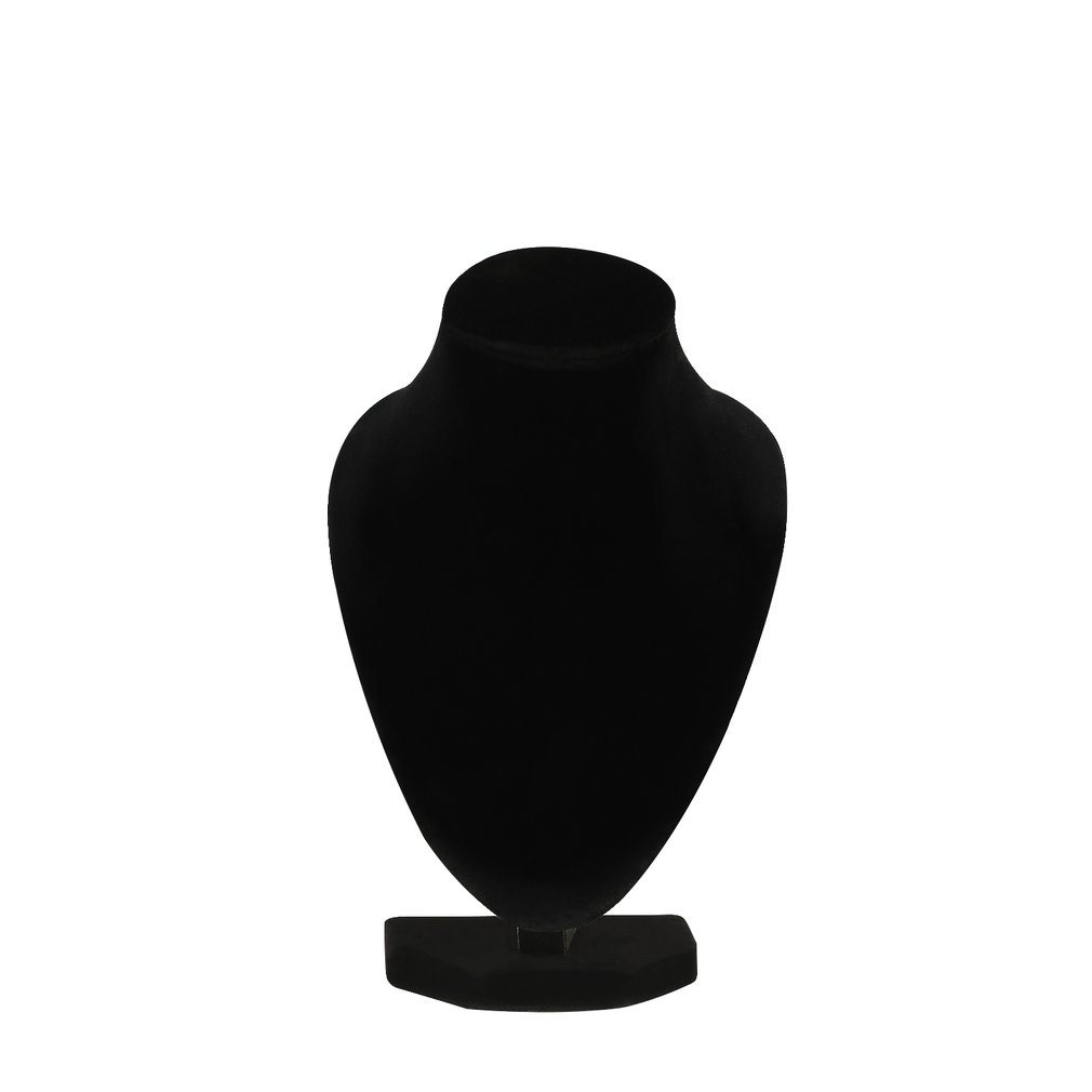 Durable Black Mannequin Necklace Jewelry Pendant Display Stand Holder Show Decorate Bracelet Jewelry Organizer