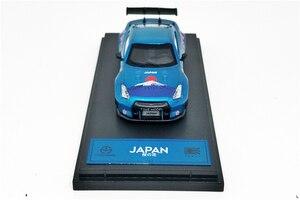 Image 2 - 1: 64 Modello di tempo Nissan GTR R35 Giappone Monte Fuji Sakula Diecast Modello di Auto