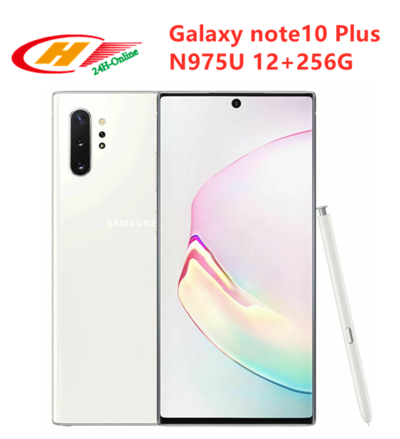Samsung Galaxy Note 10-Plus 256GB 12gbb GSM/LTE/WCDMA/CDMA Nfc Quick Charge 3.0 Wireless Charging