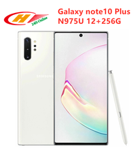 "Samsung Galaxy Note 10 Plus Note10+ N975U N975U1 256GB ROM 12GB RAM Octa Core 6.8"" Snapdragon 855 LTE Mobile Phone(China)"