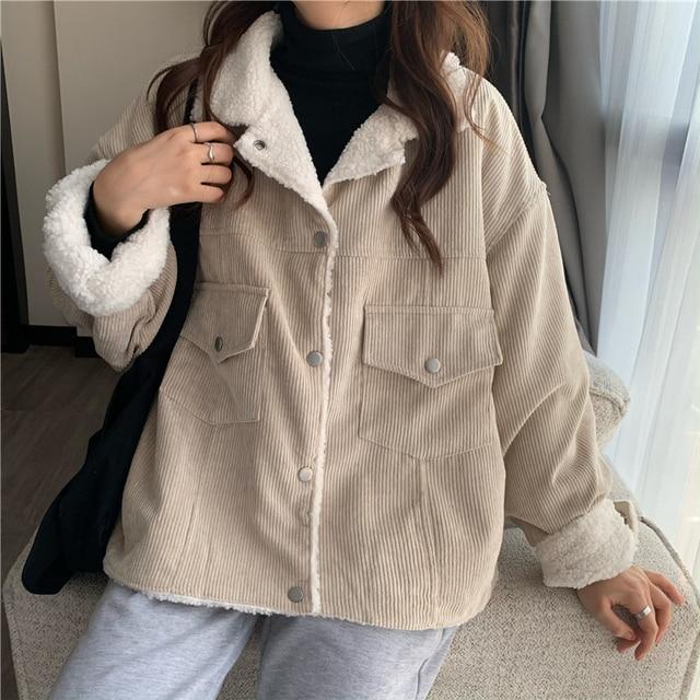New Winter Coat Women Oversize Fashion Cashmere Wool Outerwear Female Long Thickening Warm Woolen Overcoat Womens Trench Coats