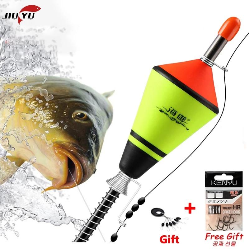 JiuYu 1Pcs Portable Automatic illuminate Fishing Float Fishing Accessories Fast Fishing Artifact Fishing Float Device Hot|Fishing Float| - AliExpress
