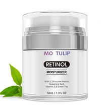 MO TULIP Retinol 2.5%Moisturizer Face Cream Hyaluronic Acid AntiAging Remove Wrinkle Vitamin E Collagen Smooth Whitening Cream