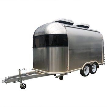 custom blue food truck mobile food trailer Mobile Food Trailer Customized Food Truck