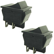 Pack Of 2,สวิตช์Rocker Power-KCD4/On - On,15A/30A, 250V ~(China)