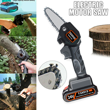 Pruning-Saw Woodworking Lithium-Battery-Charger Garden Electric Rechargeable Mini 24V