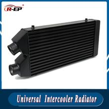 Intercooler Radiator 530*280*70mm One Side Aluminum Bar Plate Structure Cold Air Intake