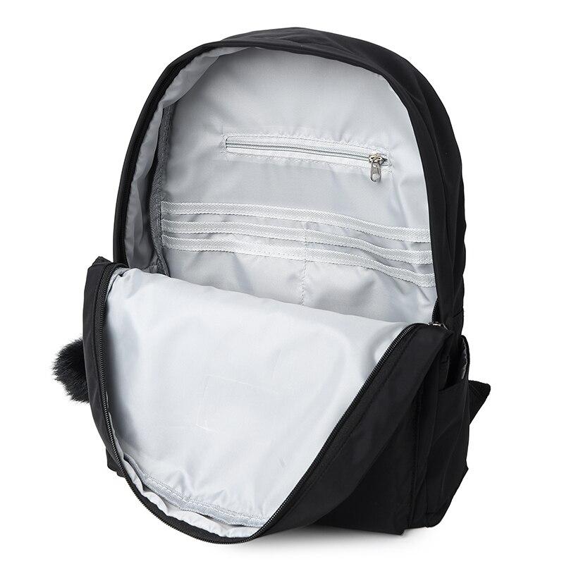 Image 5 - ファッションカジュアルガールズスクールバックパック高品質防水ナイロンスクールバッグかわいいスタイル通学リュックティーンエイジャーの ための    グループ上の スーツケース