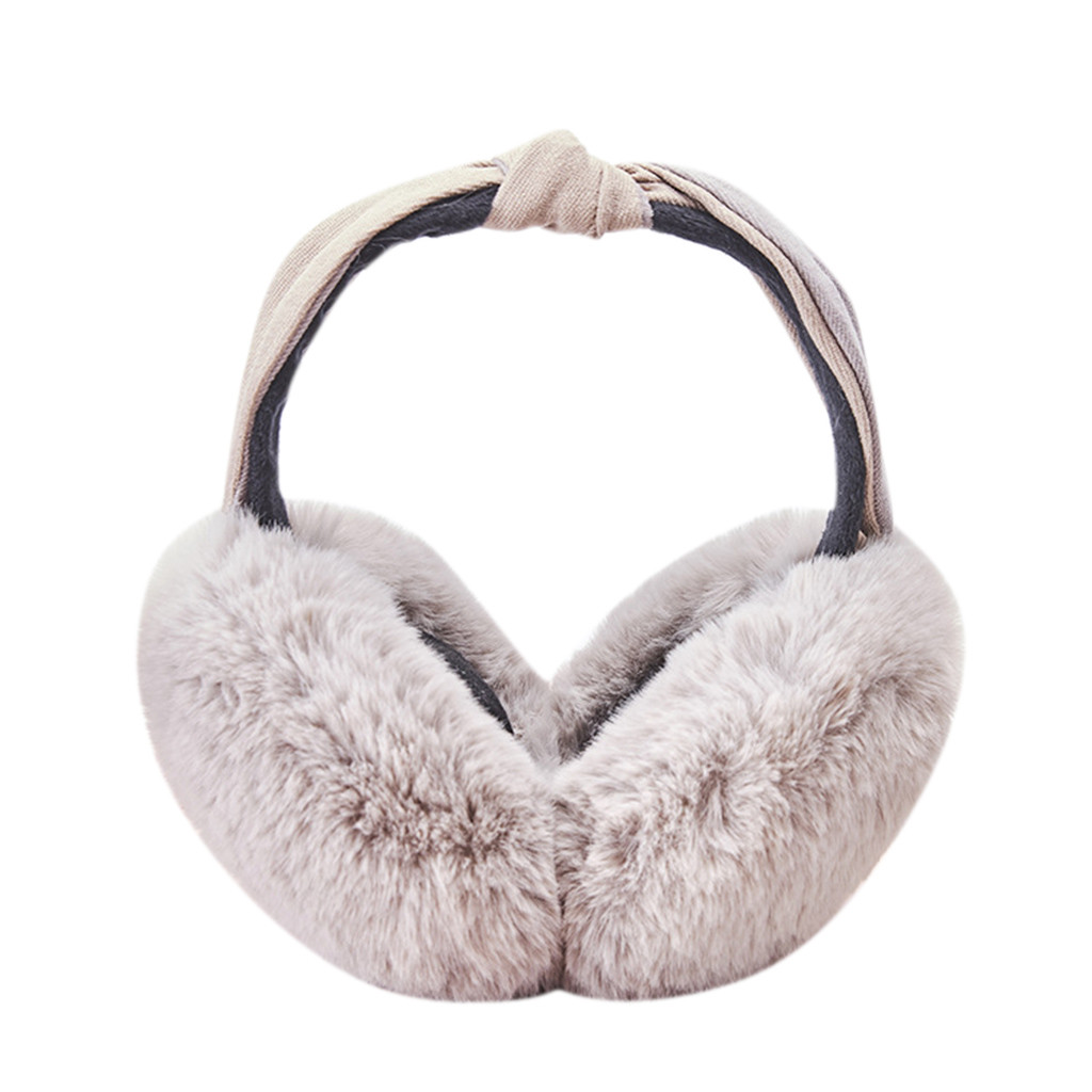 You Can If You Think You Can Winter Earmuffs Ear Warmers Faux Fur Foldable Plush Outdoor Gift