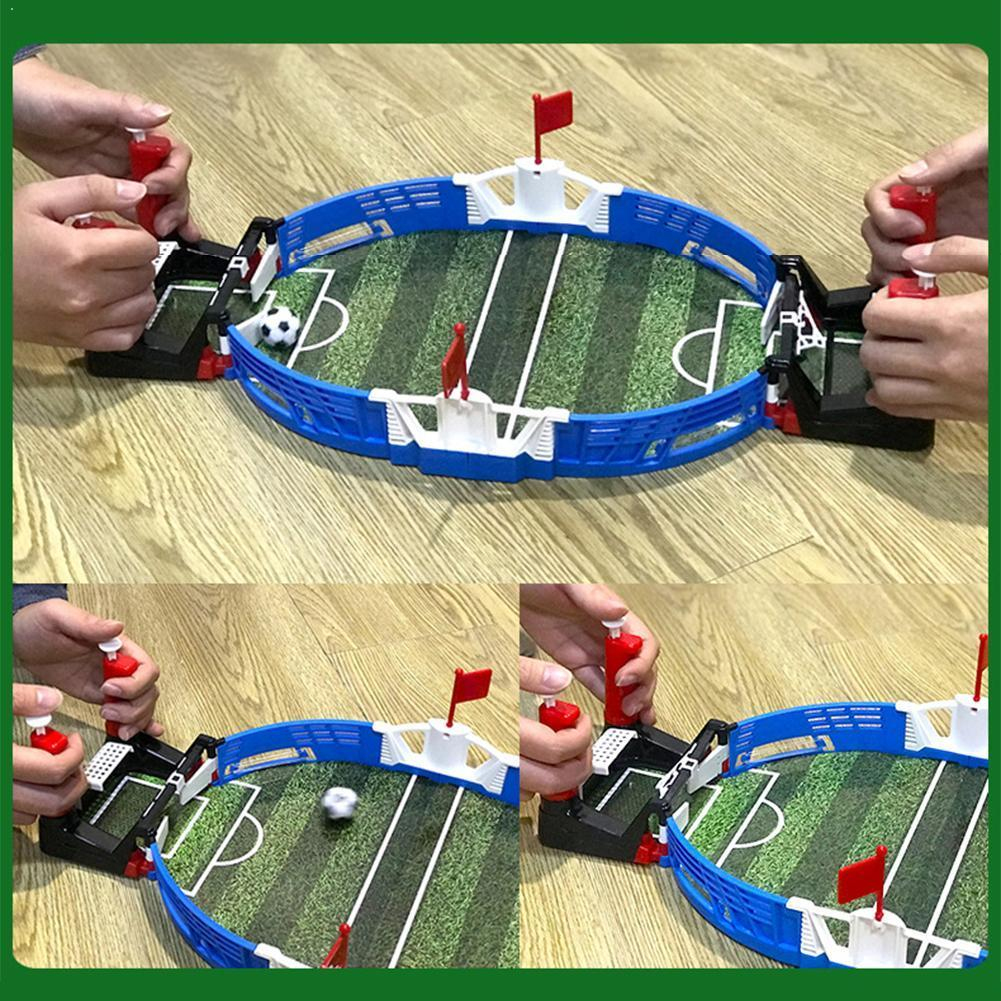 New Mini Indoor Table Football Children's Athletics Toy Double Football Athletic Battle Sports Z4U3
