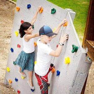 Enfants escalade jouets pour enfants bois mur pierres en plastique intérieur extérieur escalade Rock entraînement physique équipement de Fitness