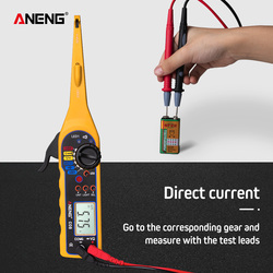 Lâmpada de energia Elétrica Multi-função Auto Circuit Tester Multímetro Reparo Do Carro Automotive Electrical Multímetro 0 V-380 V (tela)