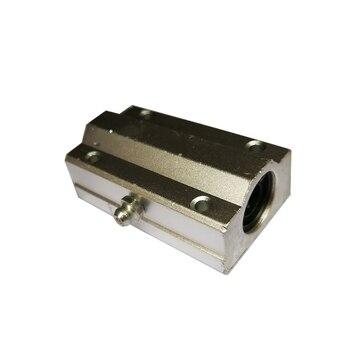4 unids/lote envío gratis SC20LUU SCS20LUU 20mm tipo largo bloque de rodamiento de bolas lineal enrutador CNC