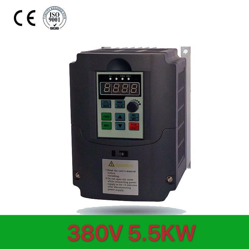 Для шпинделя VFD 380 5.5KW AC 380V5.5KW/7/5kw/11KW Частотный привод 3 фазный контроллер скорости инвертор двигателя VFD инвертор
