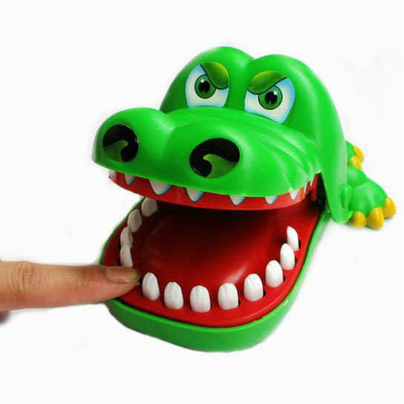 Will Bite Finger Big Mouth Tooth Extraction LACOSTE Toy Bar Game Creative Entire Toy Parent And Child Game Toy