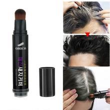 Натуральная трава белая шапочка для душа ручка долговечная коричневая черная Временная красящая ручка цвет волос долговечный черный коричневый временные волосы