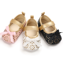 Baby Shoes PU Leather Baby Boy Girl Baby Moccasins Moccs Shoes Bow Fringe Soft Soled Non-slip Footwear Crib Shoes