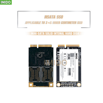IMIDO mSATA SSD 16gb 32GB120GB 128gb 256gb 512GB mSATA SSD 1TB HDD For computer 3X5 Internal Solid State hard Drive for laptop