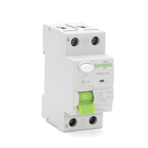 2P 16A 63A 10mA 30mA 100mA 6KA RCCB RCD 230V Electromechanic Residual Current Circuit Breaker Differential Breaker Safety Switch(China)