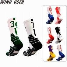 Super star profissional meias de basquete elite meias esportivas grossas antiderrapante durável skate toalha inferior meias meia