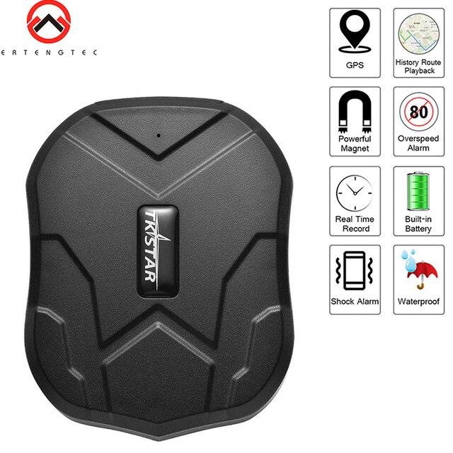 GPS Tracker Car Tracker 90 Day Standby Tkstar TK905 GPRS GPS Locator Waterproof Vehicle Tracker 2G Magnet Voice Monitor Free APP