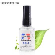 10 мл жидкий обезжириватель для накладных ногтей/УФ-гель/Лак/стикер/украшения быстрое удаление маникюра аксессуары для дизайна ногтей