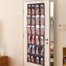 Rack Shoe-Organizer Wall-Storage-Bag Hanger Closet-Holder Pockets Door with 24-Large