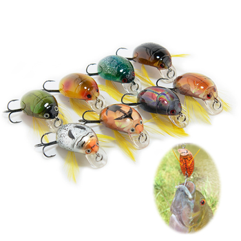 Cicada Bait Fishing Lure Insect Lure Sea Beetle Crank Suspending Bionic Artificial Hard Baits Swimbait Fishing Tackles