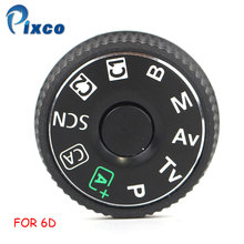 Pixco For 6D SLR digital camera repair replacement parts top cover mode dial For Canon EOS 6D цена