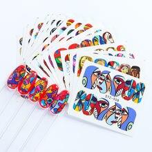 Вазелиновые наклейки для дизайна ногтей украшение переводные