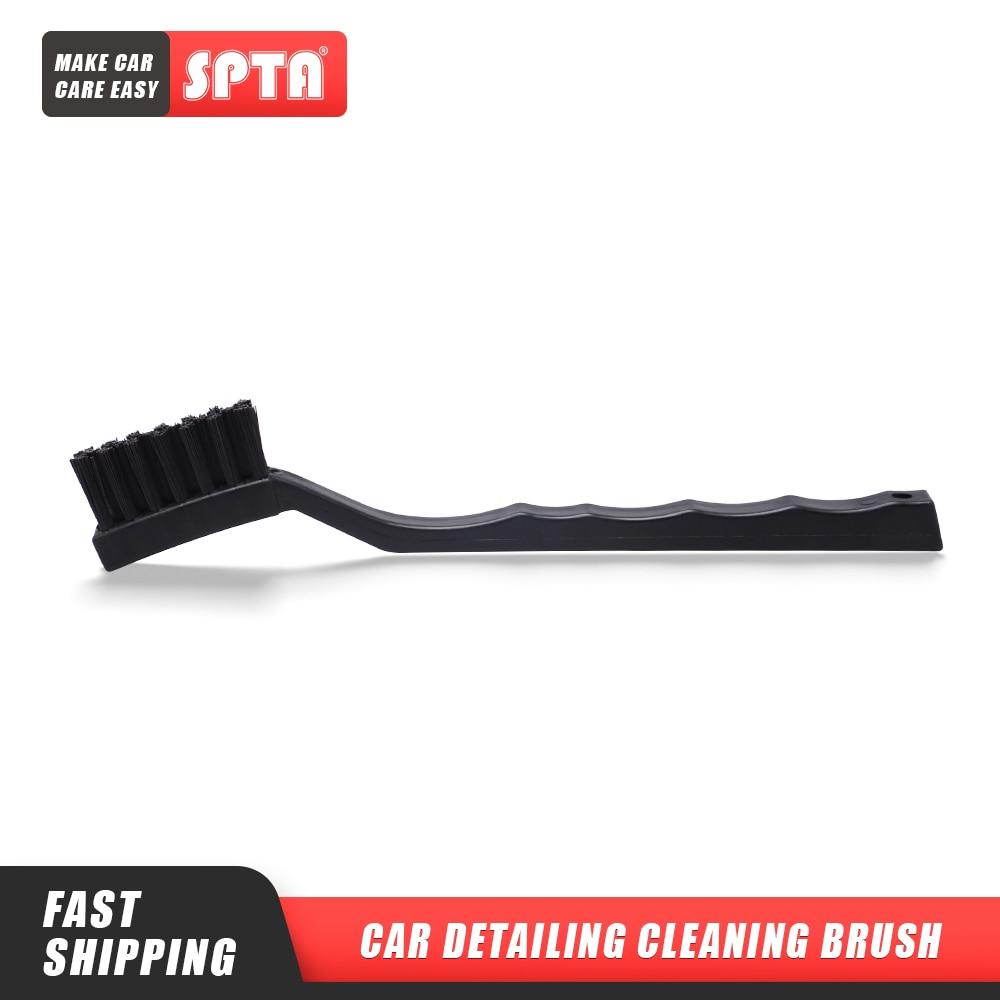 SPTA Auto Cleaning Brush Anti Static Brush Black Auto Cleaning Brush Details Cleaning Brush Tool For Car