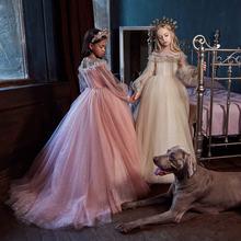 С сияющими блестками платье с цветочным узором для девочек Одежда