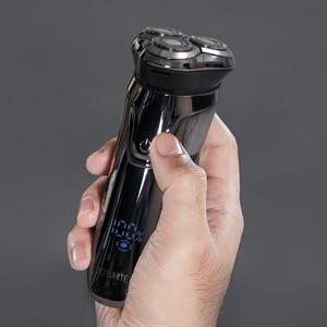 Image 3 - Soocas Pinjing Wireless 3D Smart USB Charging Electric Razor Shaver IPX7 Waterproof Blocking Protection