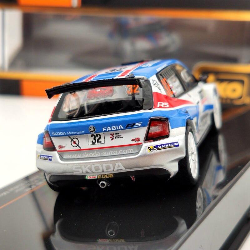 IXO 1:43 Skoda Faria R5#32 Winner Rallye Monte Carlo 2018 RAM664 Diecast Models