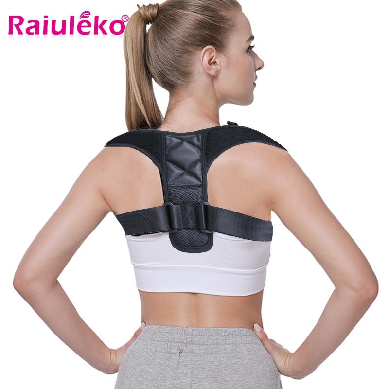 Back Posture Corrector Clavicle Spine Back Shoulder Lumbar Brace Support Adjustable Adult Corset Posture Correction Prevent Hump