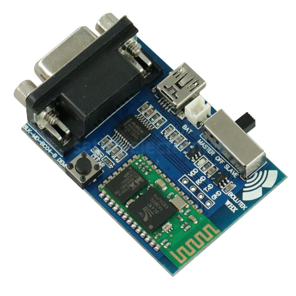 RS232 Bluetooth Serial Adapter Communication Master-Slave 2 Modes 5v Mini Usb