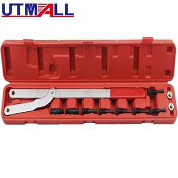 цена на Universal Camshaft Pulley & Fan Clutch Holder Set Removal Clutch Tool