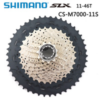 Shimano  LX CS-M7000 MTB 11 speed Mountain Bike M7000 Cassette Sprocket Bike Freewheel MTB 11-42T 11-46T bike accessories