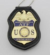 Klasik ATF bölümü adalet özel ajan bürosu alkol tütün ateşli silahlar ve patlayıcı, Çoğaltma Film Prop Pin Rozeti