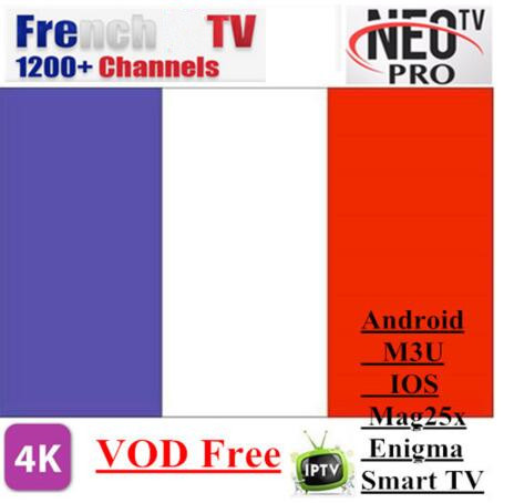 Promotion Neotv Pro 1700+ Live TV 10000 VOD French Belgium Morocca Arabic UK US Europe Smarters For Smart TV