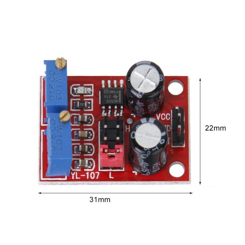 NE555 Pulse Adjustable Module Square Wave Signal Generator VH99