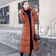 Winter Jacket Women 2019 New Long Warm Thicken Cotton Padded Fur Hoodies Outerwear Female Coat High Quality Slim Plus Size Parka стоимость
