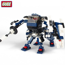 GUDI Star Wars Centaur Robot Mini Bricks Single Sale Starwar Building Blocks Assembled Legoingly Toys For Children