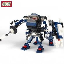 купить GUDI Star Wars Centaur Robot Mini Bricks Single Sale Starwar Building Blocks Assembled Legoingly Toys For Children дешево