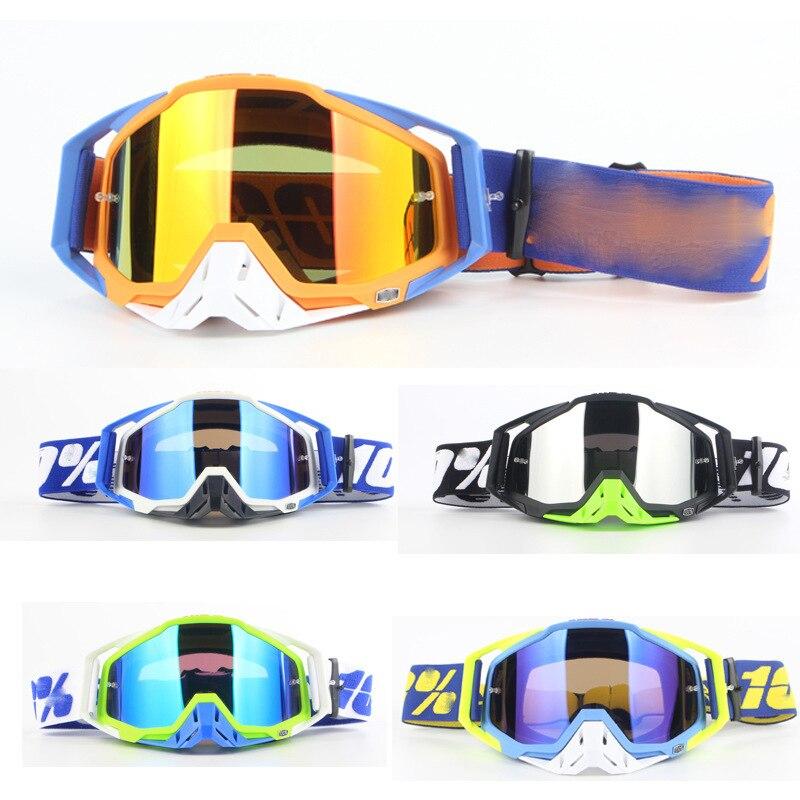 100% แว่นตาMotocross GlassesSkiingกีฬาEye Ware MXหมวกนิรภัยOff Road Goggles Gafasสำหรับรถจักรยานยนต์รถจักรยานยนต์ขี่จักรยานแว่...