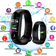 M3 Plus Waterproof Smart Watch M3Plus Bluetooth Watch Wristband Fitness Tracker Heart Rate Activity Bracelet Sport Smartwatch